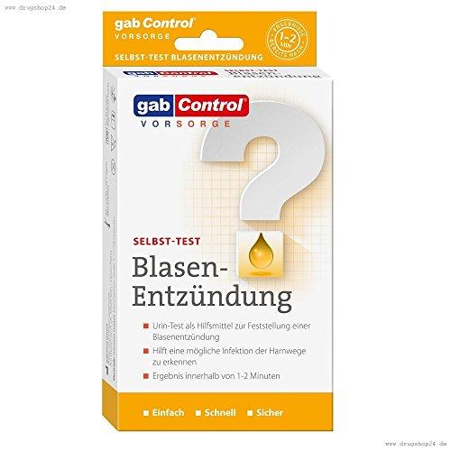 gabControl Selbsttest Blasen-Entzündung, 1er Pack (1 x 3 Stück) - 1