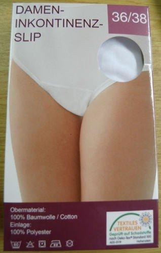 Inkontinenzslip für Damen, waschbar und Trocknergeeignet, 50285, Größe:52/54;Farbe:weiss - 2